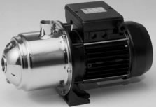 DHI MULTISTAGE CENTRIFUGAL PUMPS IN AISI 316 STAINLESS STEEL