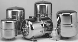 EXPANSION TANKS COMPOSITE MATERIAL - STAINLESS STEEL - PAINTED STEEL