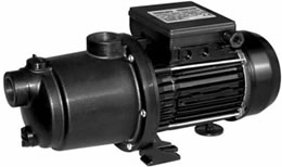 MCP HORIZONTAL MULTISTAGE CENTRIFUGAL PUMP FOR OPERATIONS WITH SWIMMING POOL CLEANERS