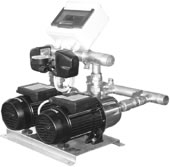 PRESSOMAT BOOSTER SET WITH TWO PUMPS
