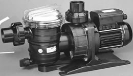 SWIMMEY SELF-PRIMING PUMPS FOR SWIMMING POOLS WITH PREFILTER