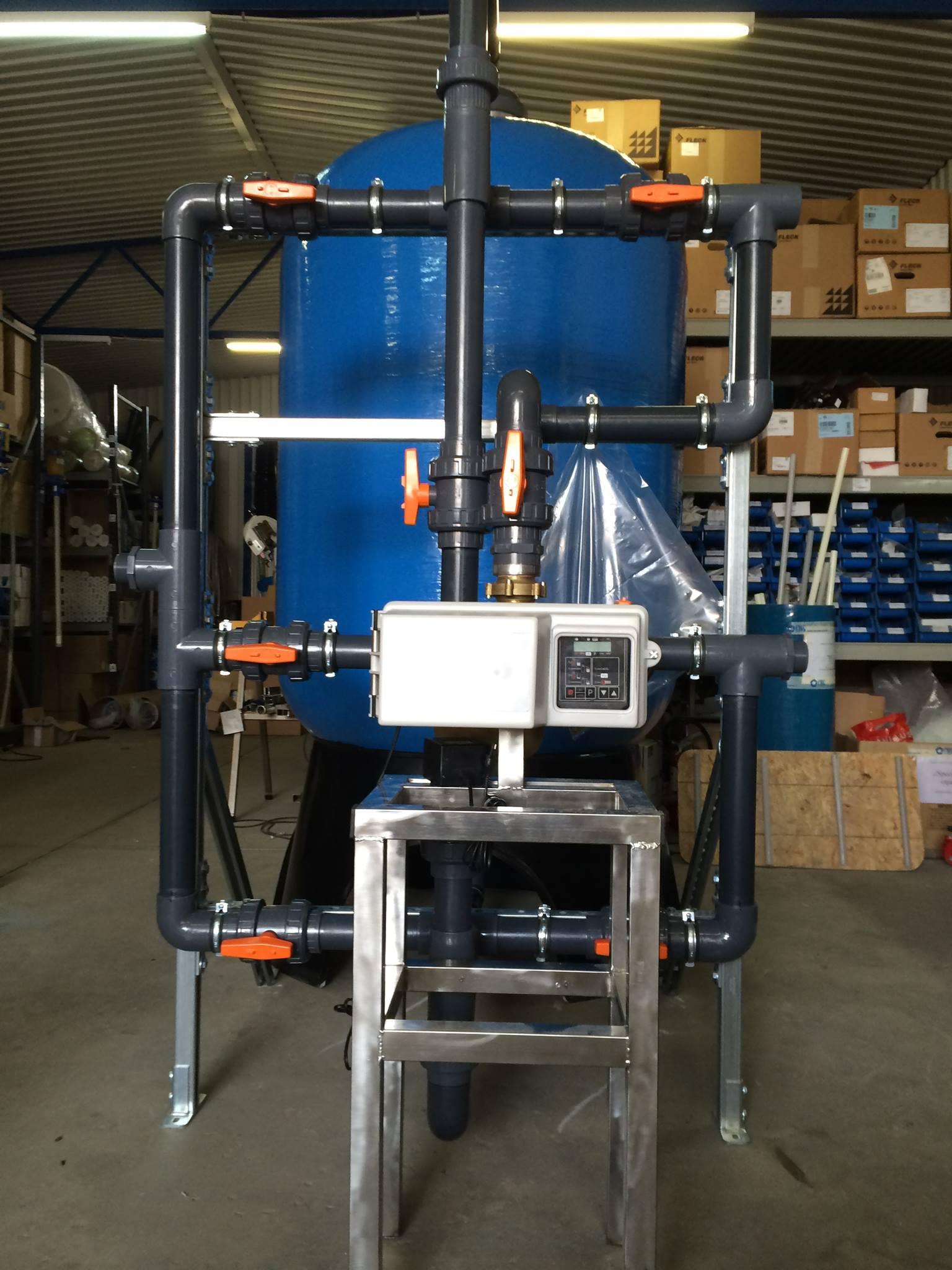 CWG-FILT- pre-assembled system