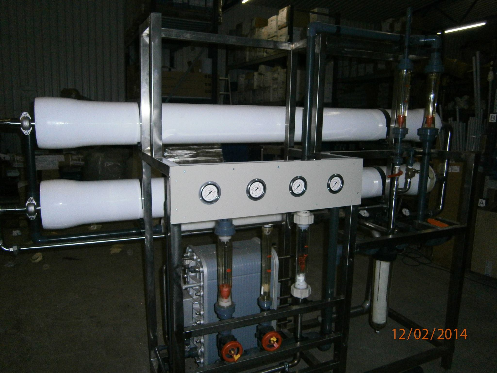 CWG-reverzna osmoza EDI-elektrodeionizacija